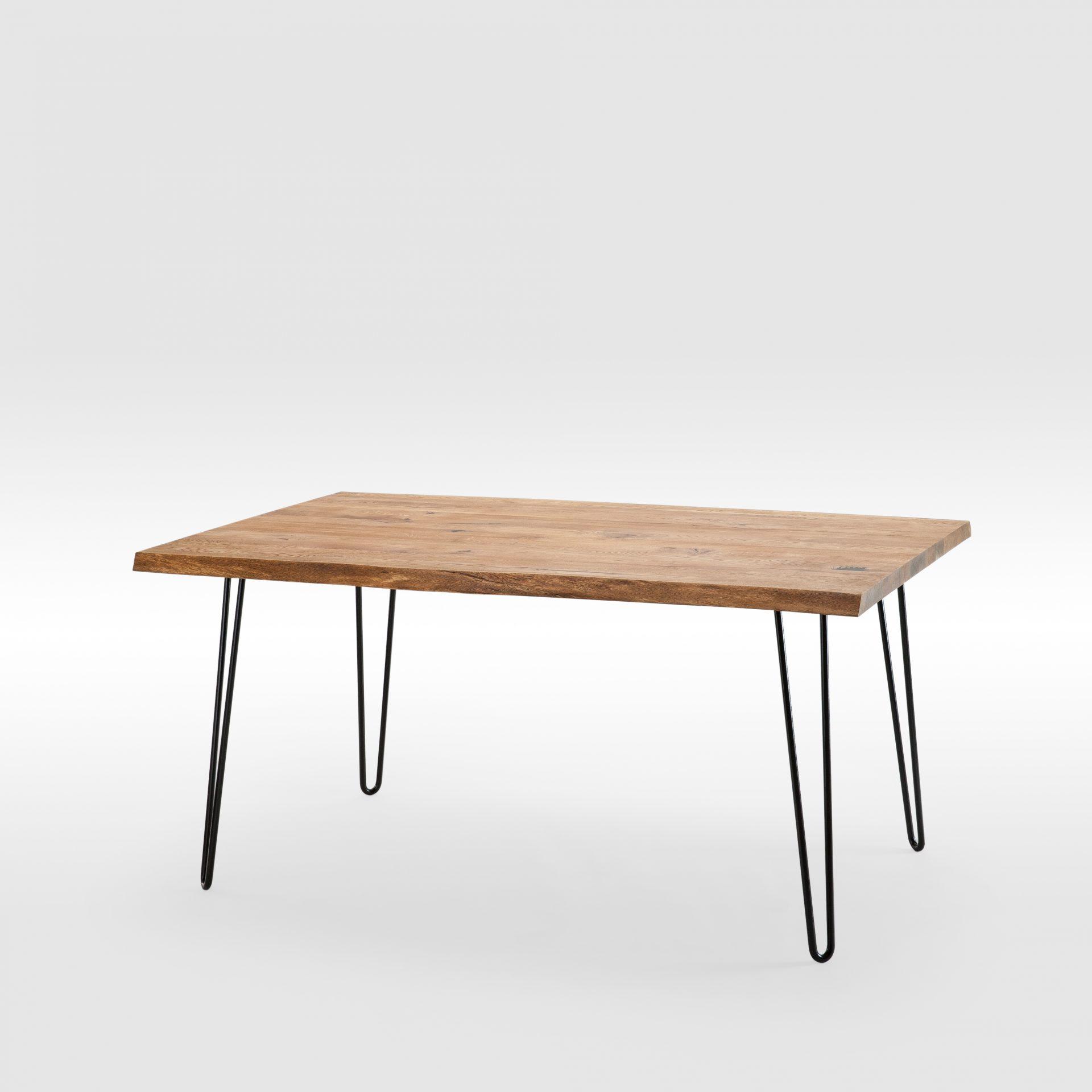 Didelis Rustic stiliaus valgomojo stalas
